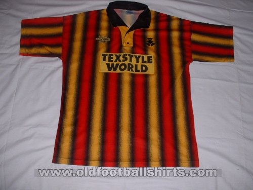 Partick Thistle Home football shirt 1994 - 1995