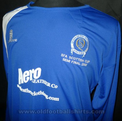 Queen of the South Special voetbalshirt  2007 - 2008