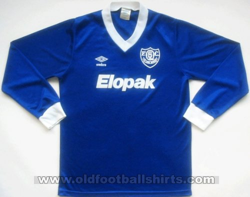 Queen of the South Home voetbalshirt  1985 - 1987