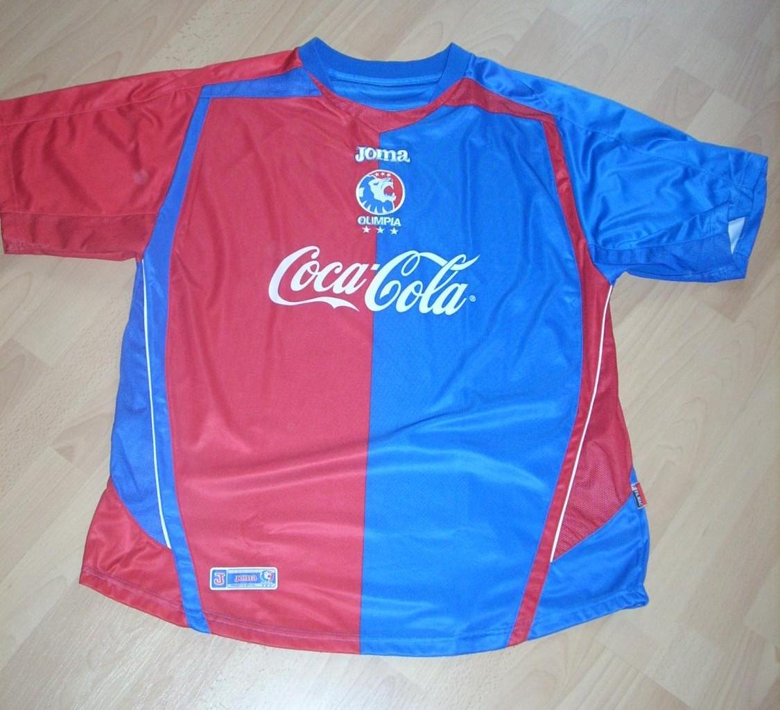 25ba84b11 Olimpia Home Maillot de foot 2006 - 2007.