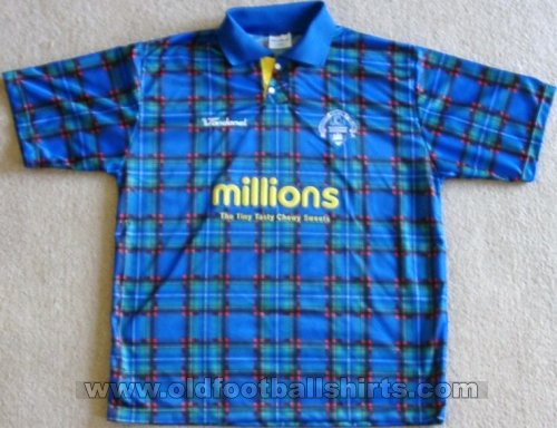 Greenock Morton Away baju bolasepak 2005 - 2007