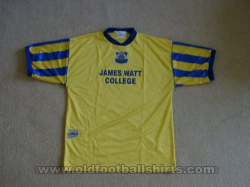 Greenock Morton Away baju bolasepak 1996 - 1997