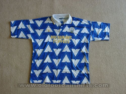 Greenock Morton Home Camiseta de Fútbol 1991 - 1993