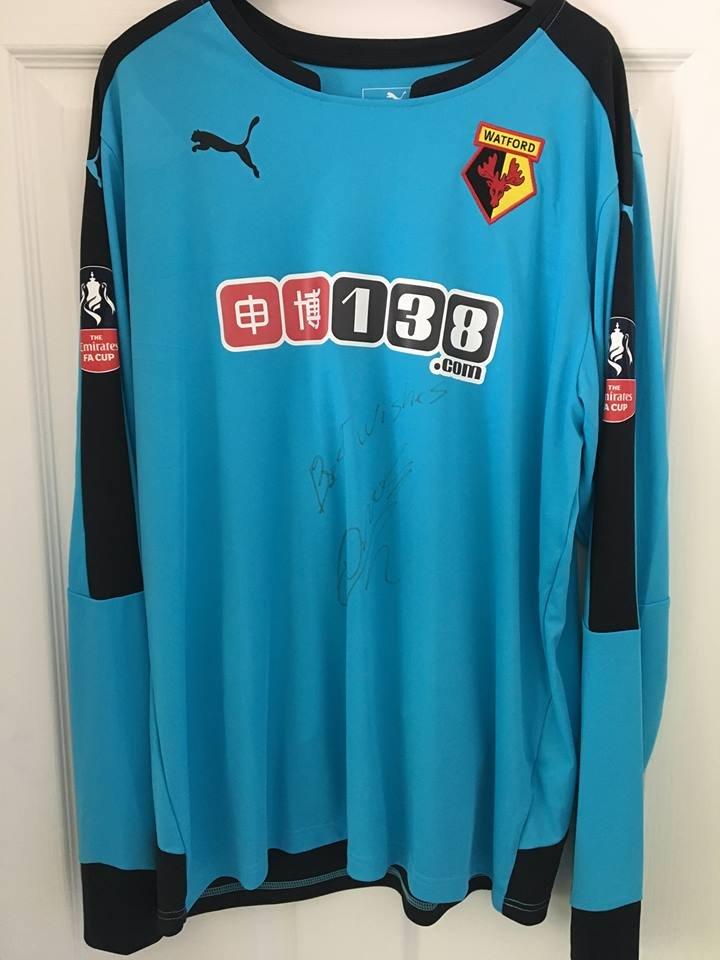 e36c96a4f9 Watford Goalkeeper maglia di calcio 2015 - 2016. Sponsored by 138.com