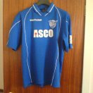 Peterhead football shirt 2002 - 2004
