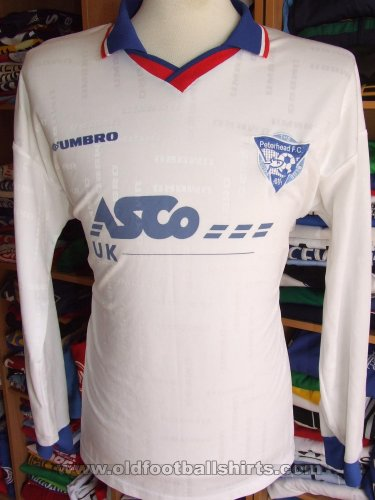Peterhead Away Maillot de foot (unknown year)