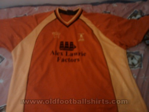 Banbury United Home Maillot de foot (unknown year)