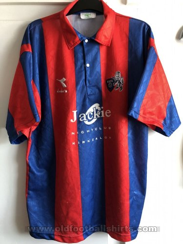 Raith Rovers Away football shirt 1993 - 1994