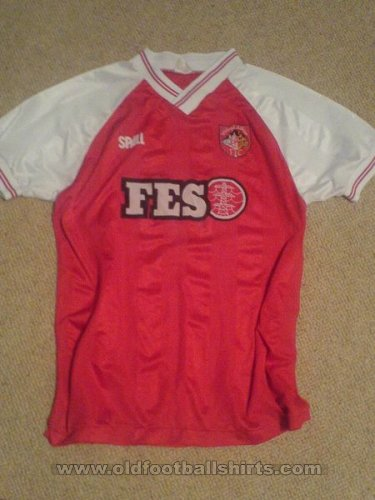 Stirling Albion Home football shirt 1988 - 1990