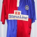 Stranraer football shirt 1996 - 1997