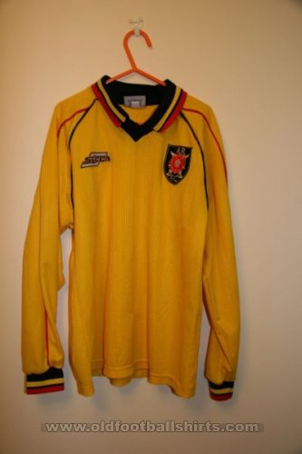 Albion Rovers Home football shirt 2000 - 2002