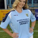 Rugby Town football shirt 2009 - 2011