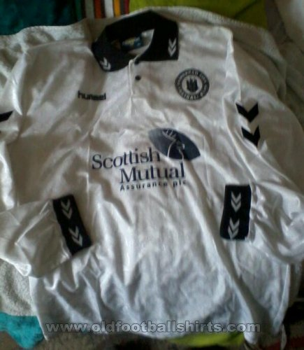 Edinburgh City FC Home Fußball-Trikots 1998 - 1999