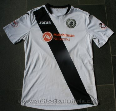 Edinburgh City FC Home football shirt 2016 - 2017