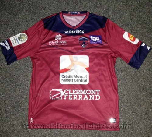 Clermont Foot Home baju bolasepak 2016 - 2017