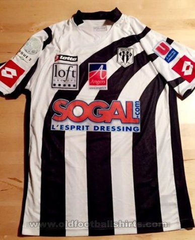 Angers SCO Home football shirt 2008 - 2009