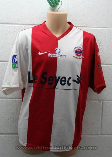 Châteauroux Away football shirt 2007 - 2008