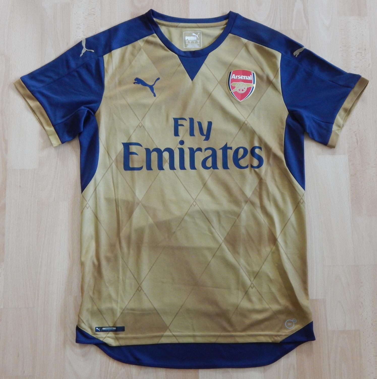 c61443df Arsenal Away Maillot de foot 2015 - 2016. Sponsored by Emirates