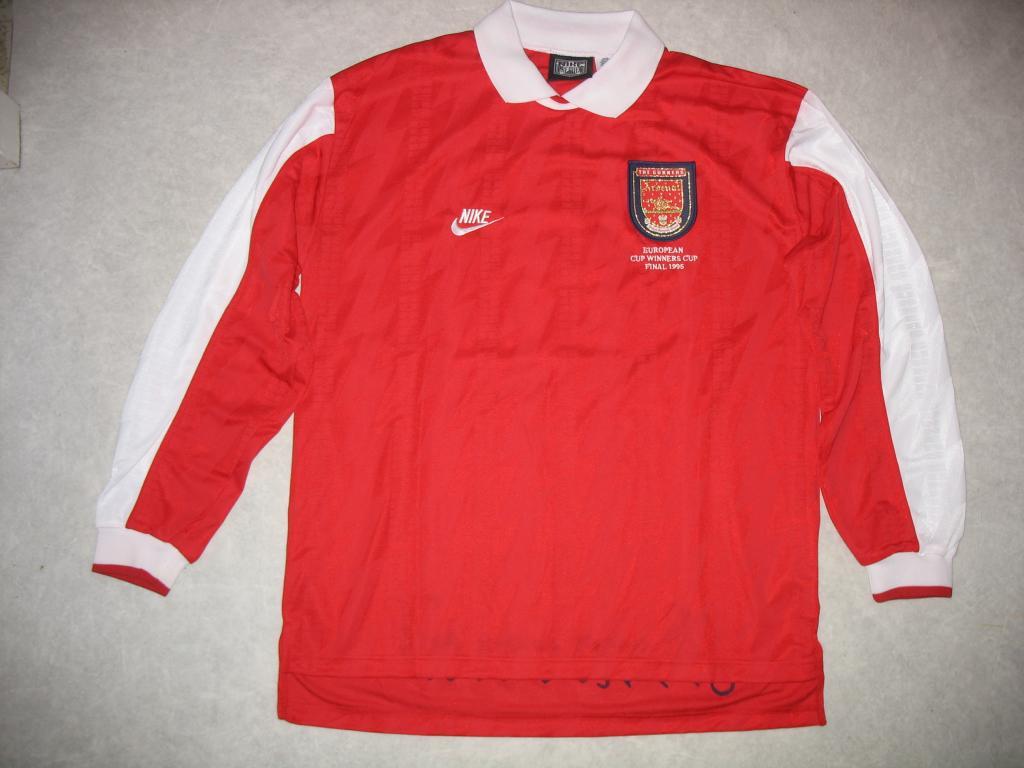 arsenal cup shirt football shirt 1995 added on 2011 07 30