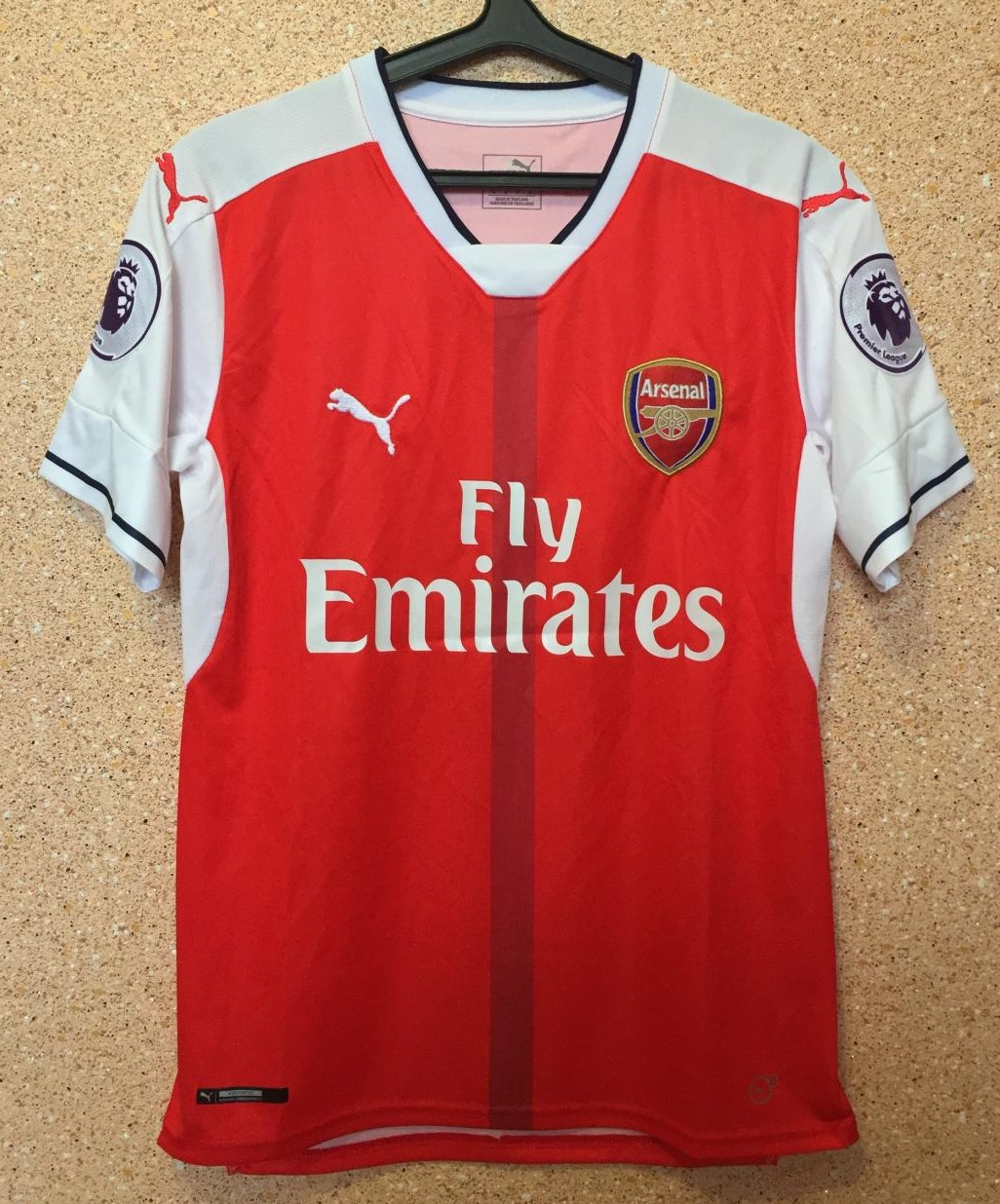 f8201cff673 Arsenal Home football shirt 2016 - 2017. Sponsored by Emirates