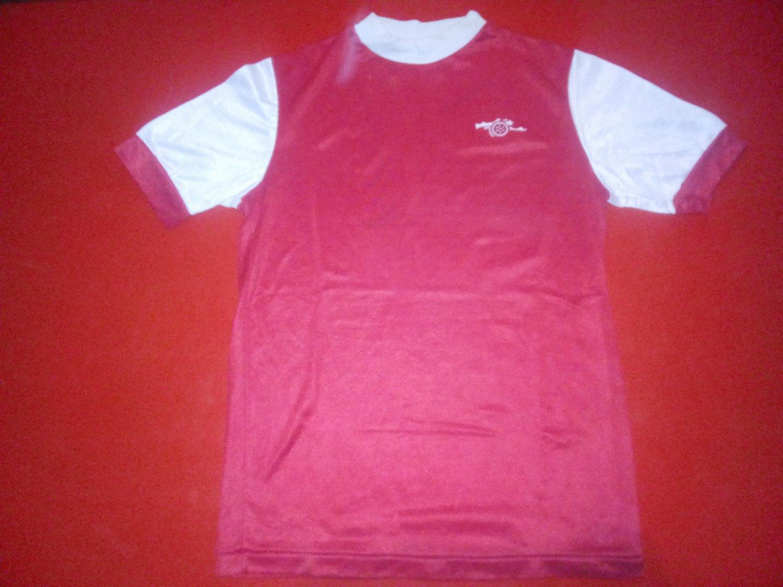a32ad1da7 Arsenal Retro Replicas camisa de futebol 1970 - 1972.