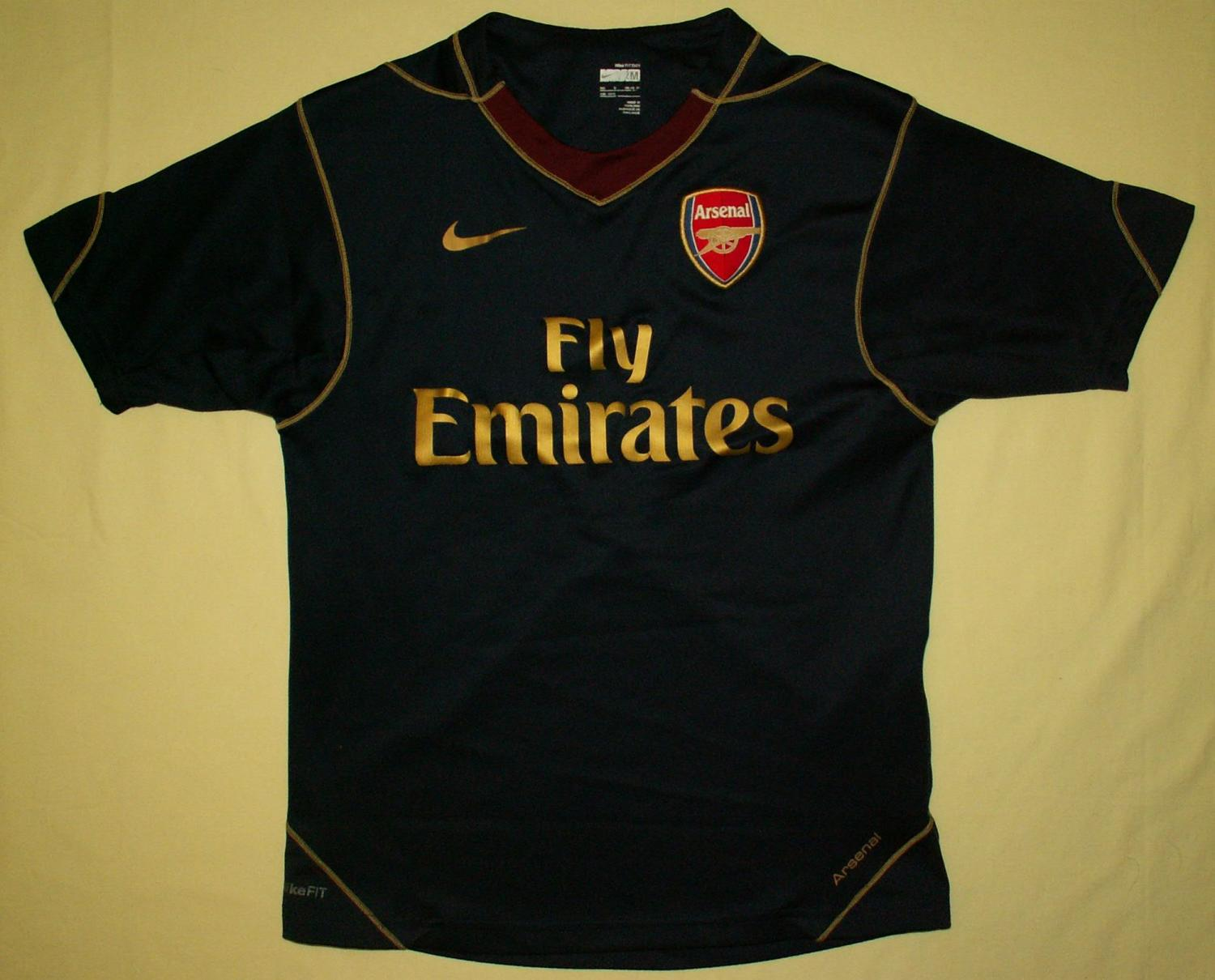 the latest 1cf63 46c57 Arsenal Training/Leisure fotbollströja 2007 - 2008.
