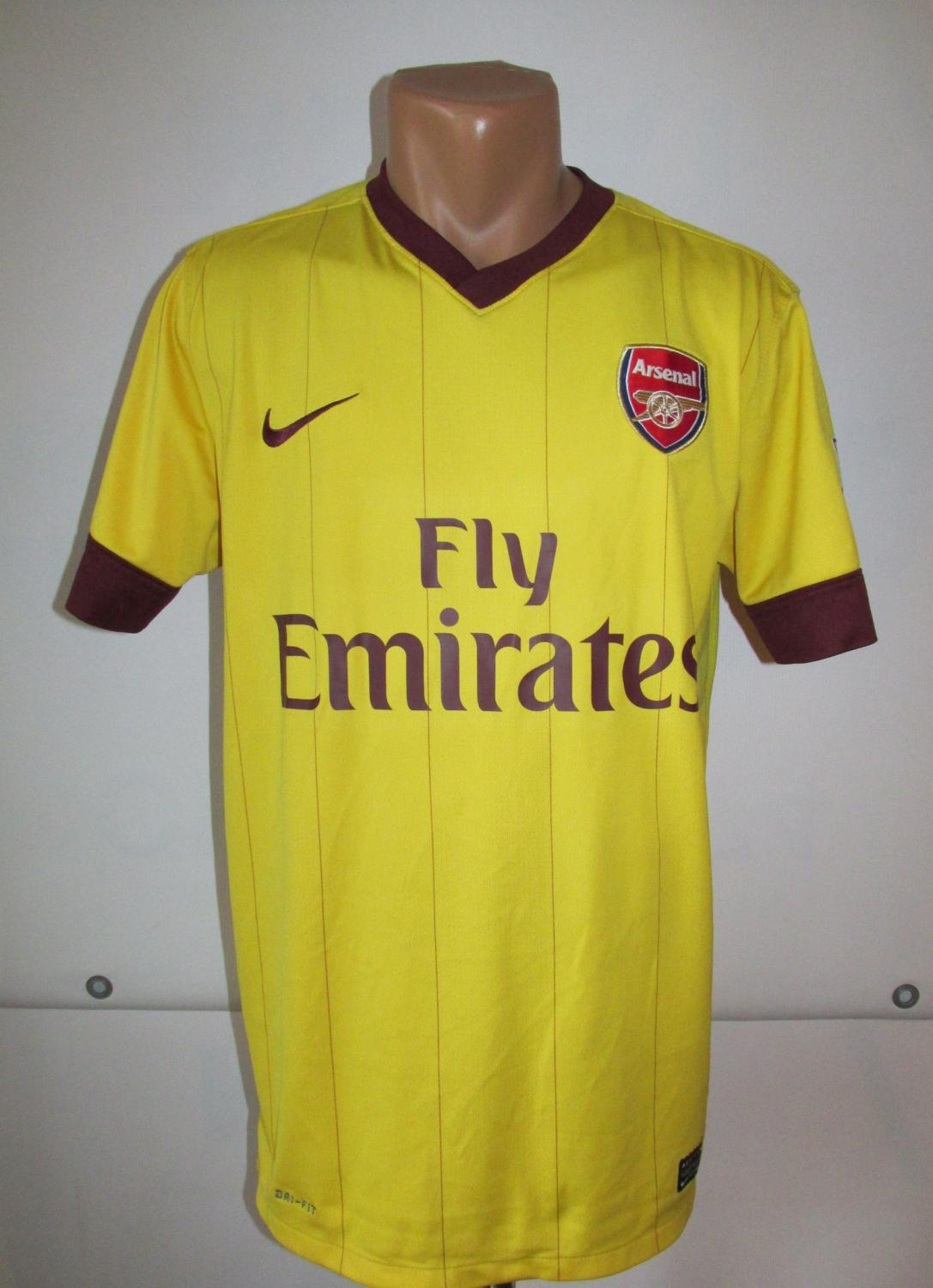Arsenal ext rieur maillot de foot 2012 2013 ajout 2011 for Arsenal maillot exterieur 2013