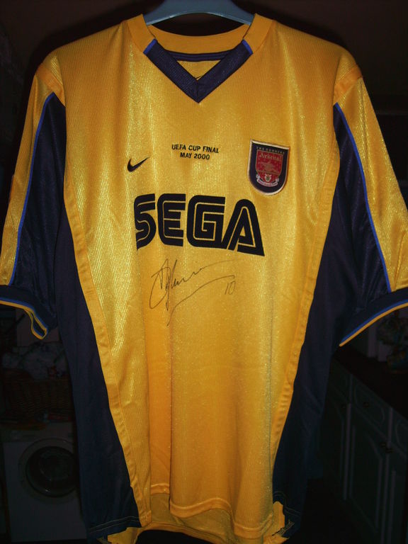 Arsenal ext rieur maillot de foot 1999 2000 ajout 2016 for Arsenal maillot exterieur