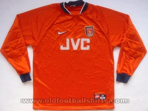 Arsenal Goalkeeper football shirt 1996 - 1998