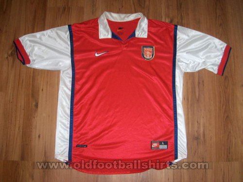 Arsenal Home football shirt 1998 - 2000