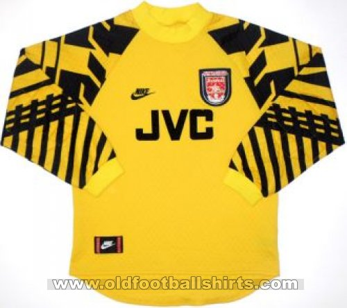 Arsenal Goalkeeper football shirt 1995 - 1997