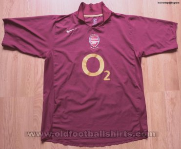 Arsenal Home football shirt 2005 - 2006