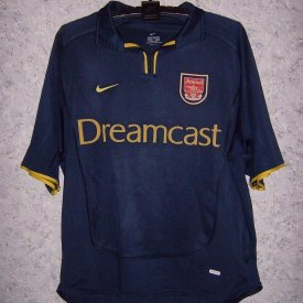 Arsenal Home voetbalshirt  2000 - 2002 sponsored by Dreamcast