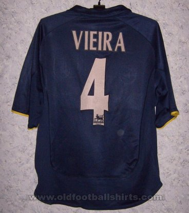 Arsenal Third football shirt 2000 - 2002