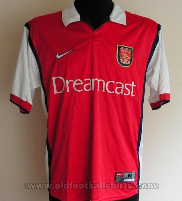 Arsenal Home football shirt 1999 - 2000