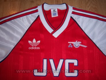 Arsenal Home football shirt 1988 - 1990