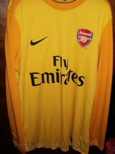 Arsenal Goalkeeper football shirt 2009 - 2010