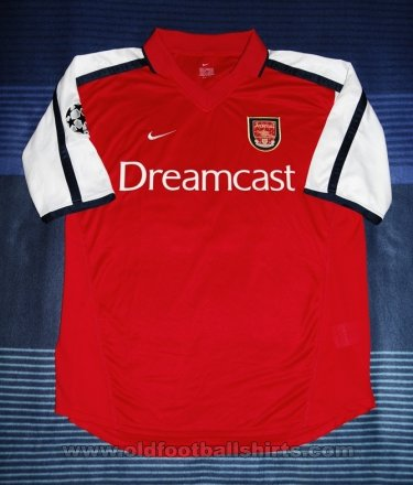 Arsenal Home football shirt 2000 - 2002