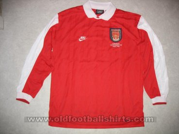 Arsenal Cup Shirt football shirt 1995