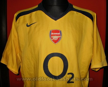Arsenal Away Camiseta de Fútbol 2005 - 2006