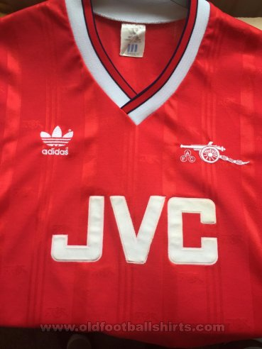Arsenal Home football shirt 1986 - 1988