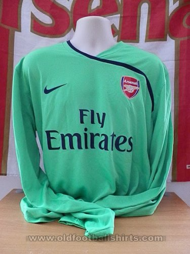 Arsenal Goalkeeper football shirt 2008 - 2009