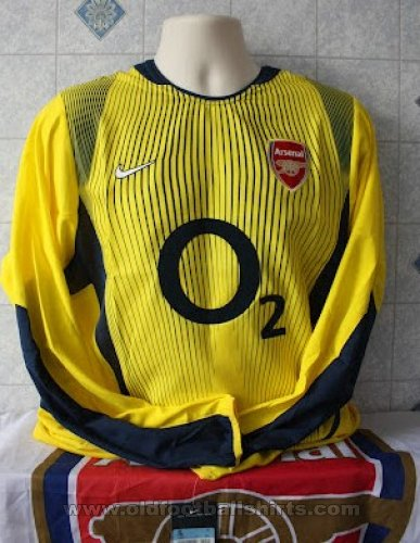 Arsenal Goalkeeper football shirt 2002 - 2003