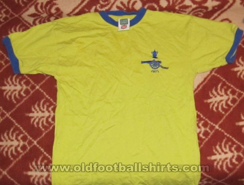 Arsenal Retro Replicas baju bolasepak 1970 - 1971