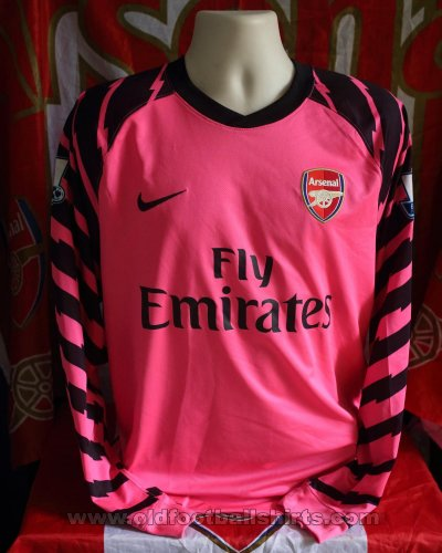Arsenal Goalkeeper football shirt 2010 - 2011