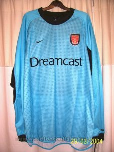 Arsenal Goalkeeper football shirt 2000 - 2001