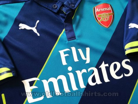 Arsenal Third football shirt 2014 - 2015