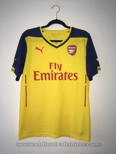 Arsenal Away football shirt 2014 - 2015