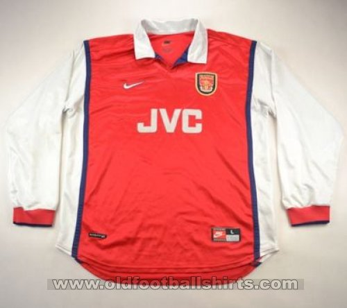 Arsenal Home football shirt 1998 - 1999