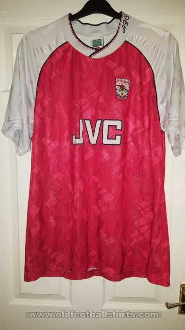 Arsenal Retro Replicas football shirt 1990 - 1992